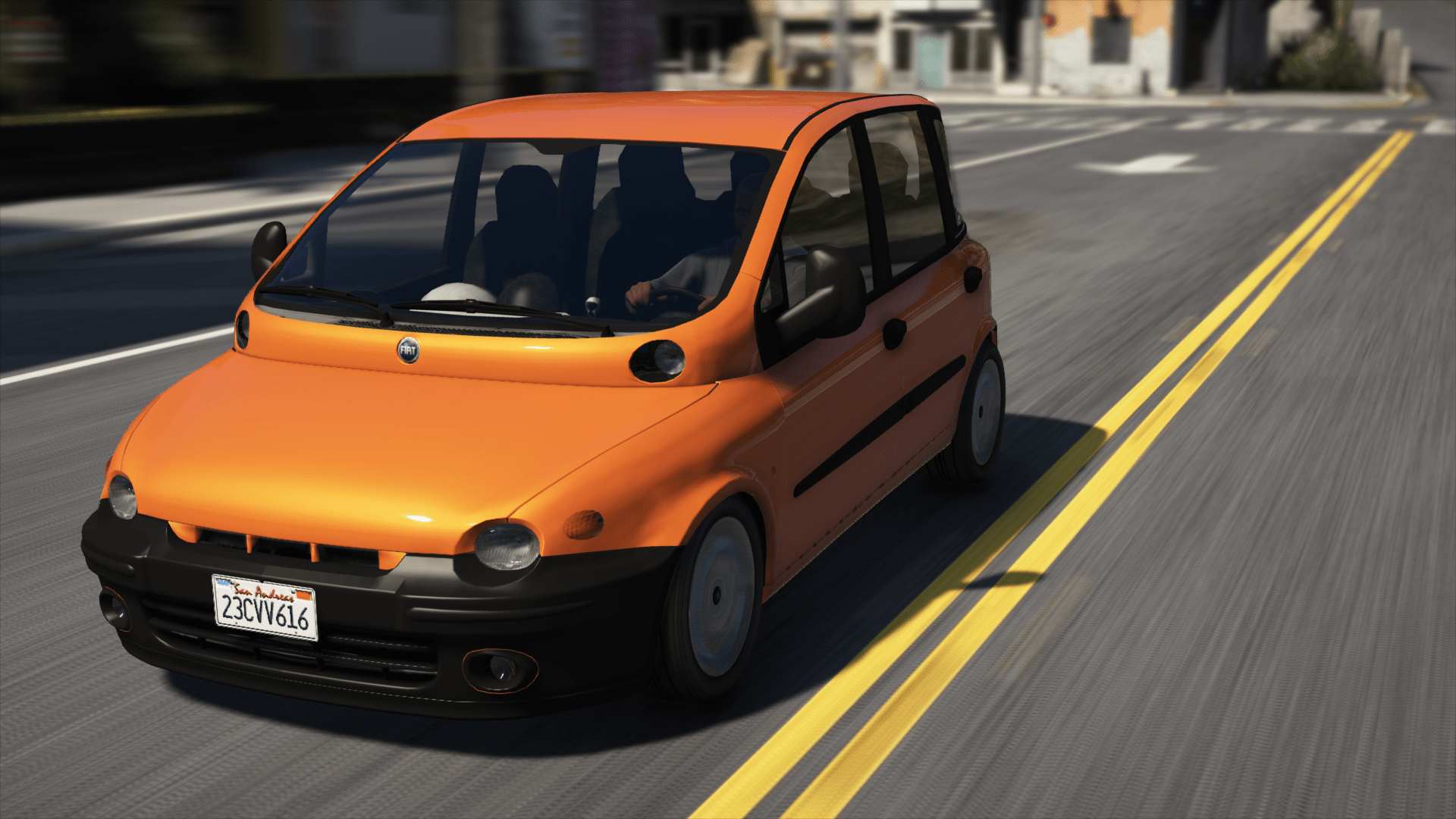 Fiat Multipla Unlock Gta5 Mods Com