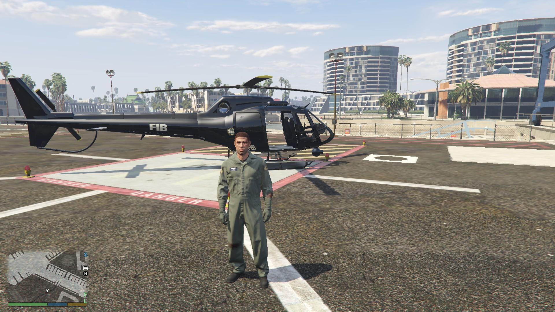 Elicottero Gta 5 : Fib police helicopter gta mods
