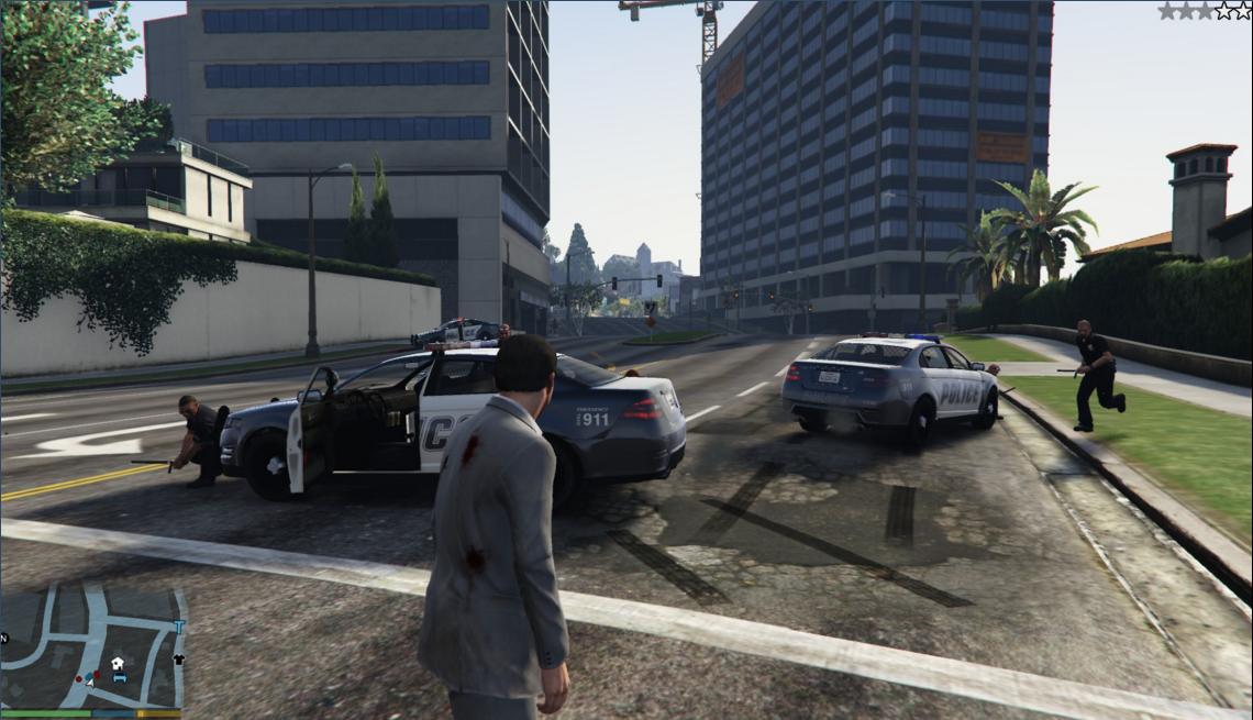 Fighting Cops - GTA5-Mods.com