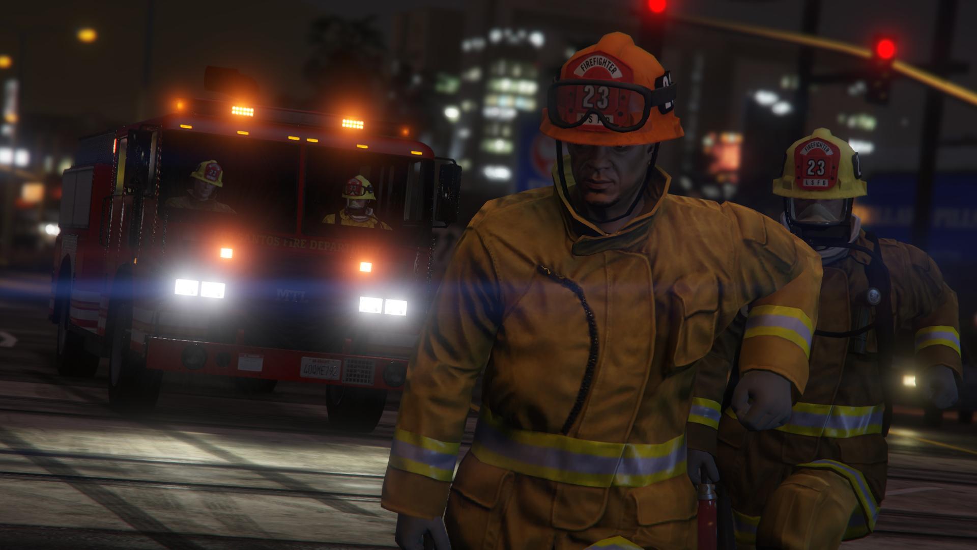 Firefighter Headwear Fix Gta5 Modscom