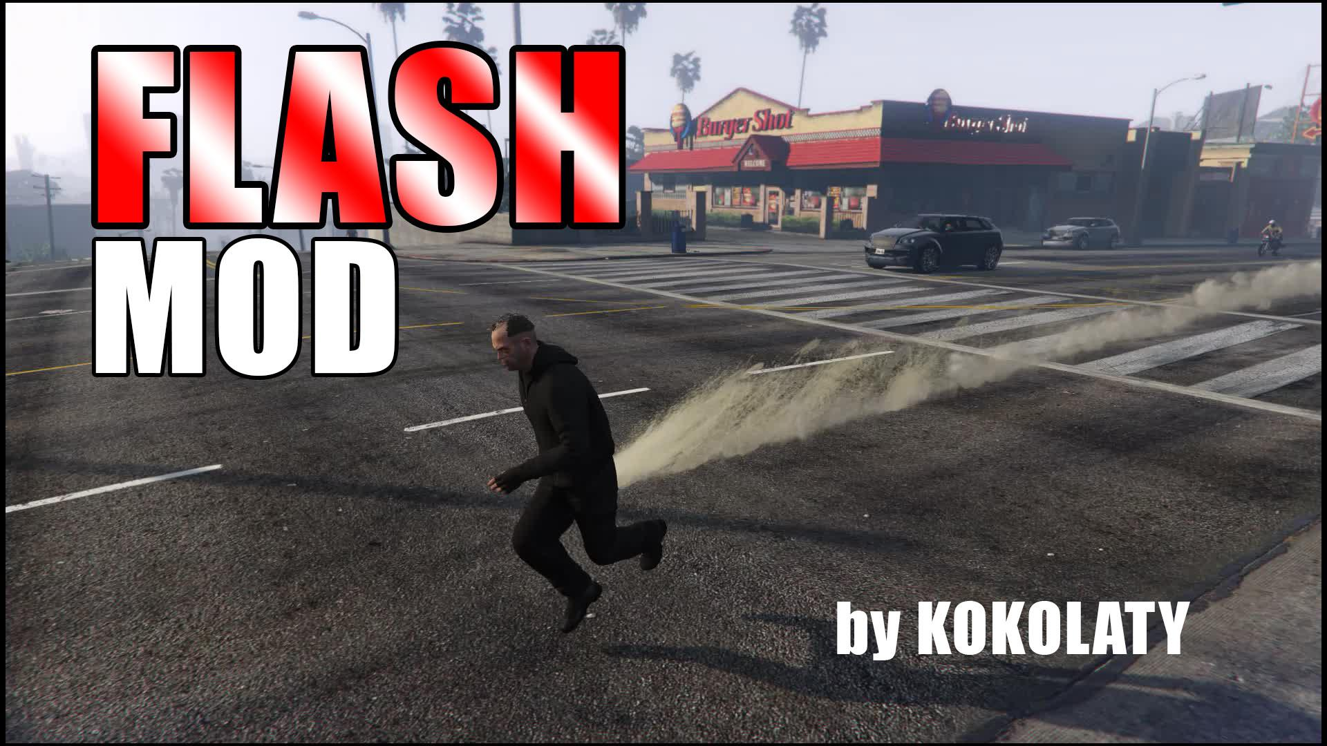 The Flash Mod - GTA5-Mods com