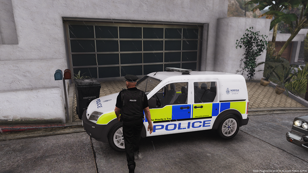 ford connect police norfolk constabulary replace template gta5