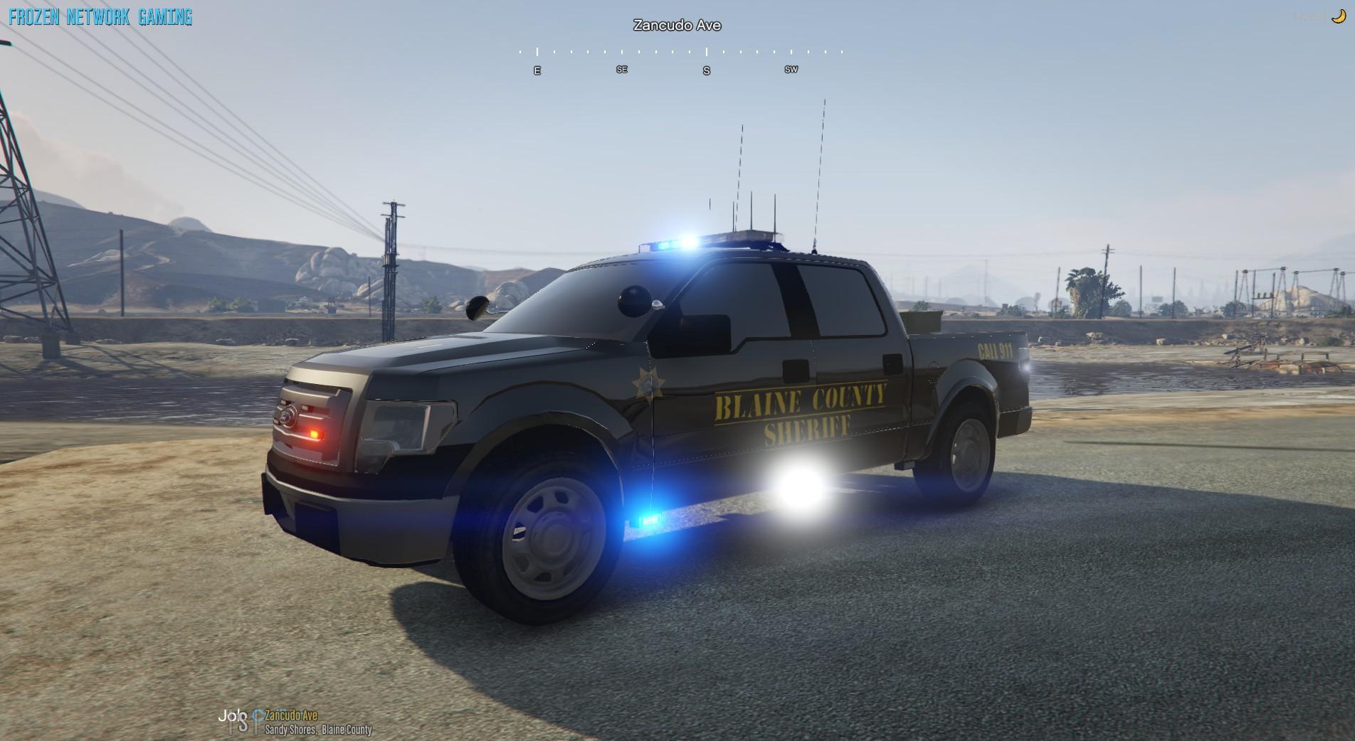 Ford F150 Blaine County Sheriff Utility - GTA5-Mods.com