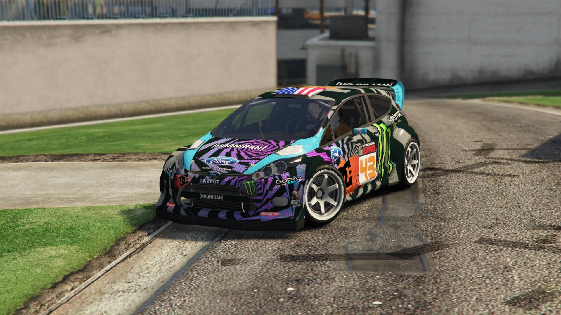Ford Fiesta Ken Block Gta5 Mods Com