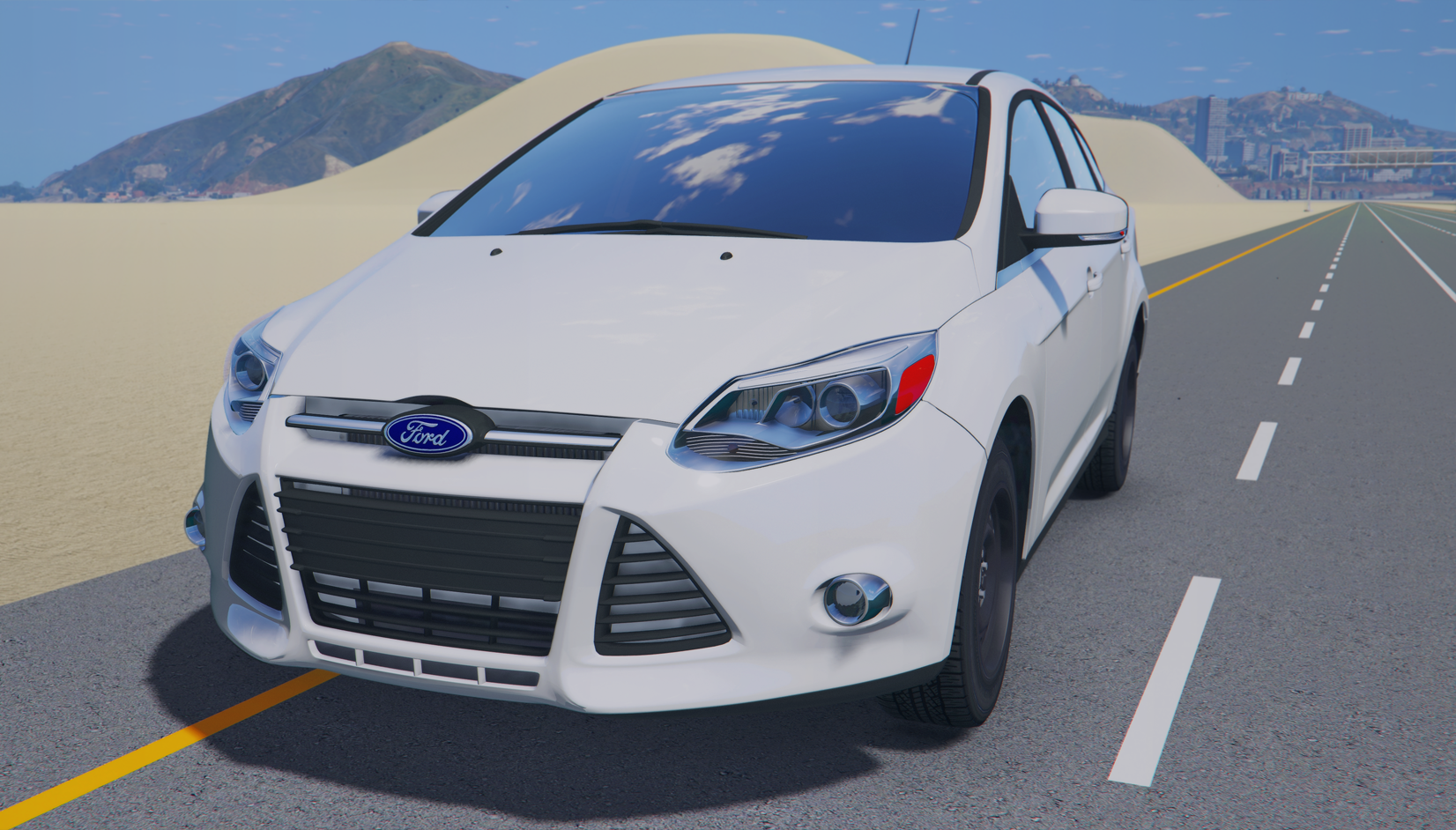 2014 ford focus gta5. Black Bedroom Furniture Sets. Home Design Ideas