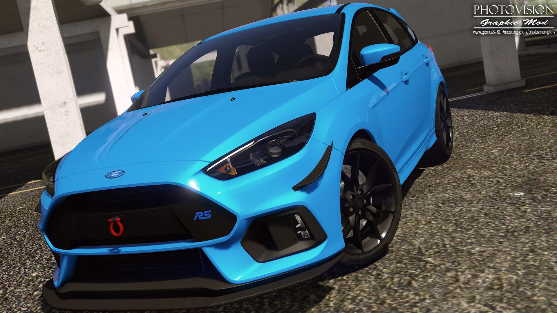 Ford Focus Rs 2017 Add On Replace Tuning Template
