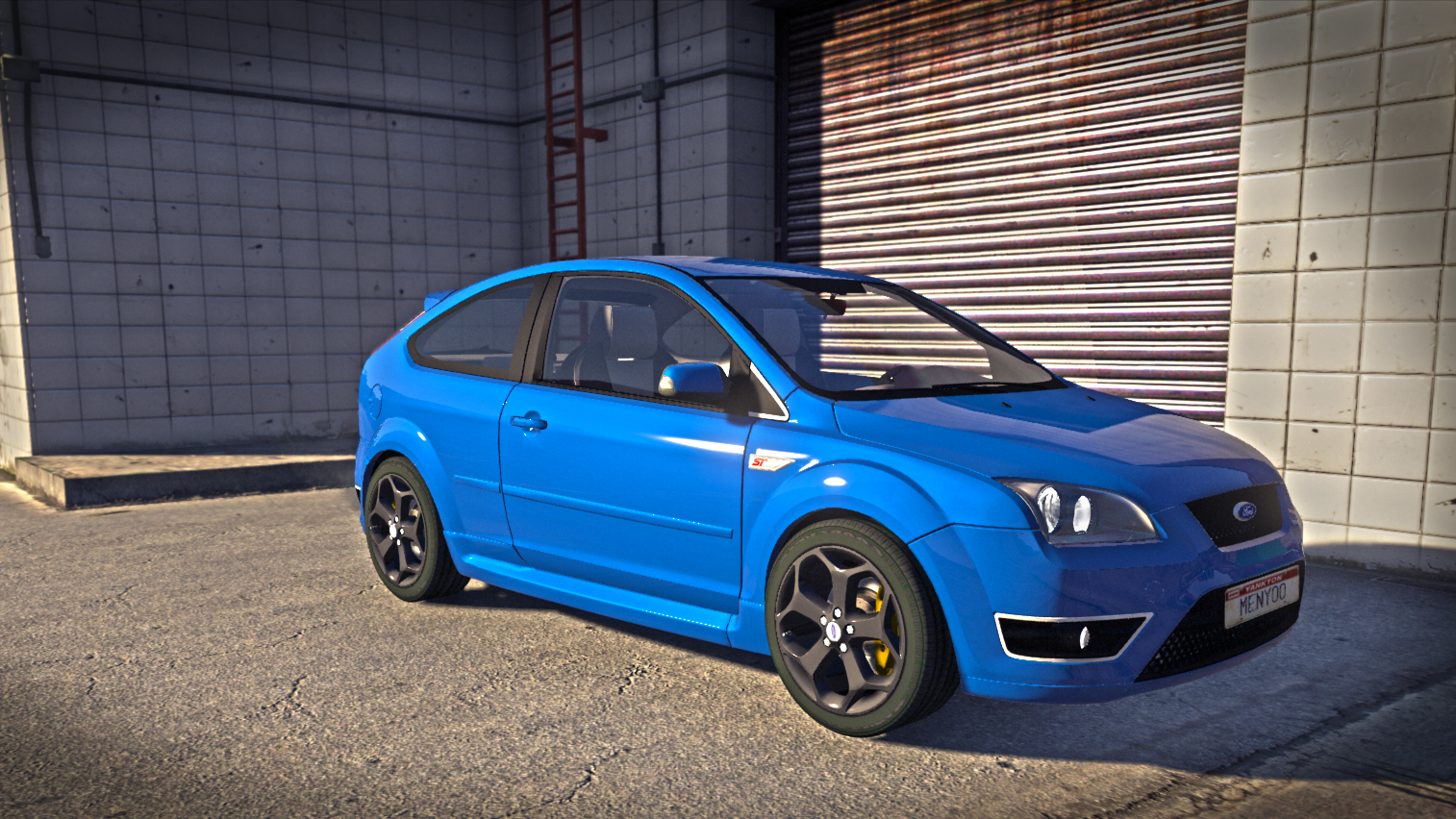 ford focus st 2006 replace add on trailer gta5. Black Bedroom Furniture Sets. Home Design Ideas