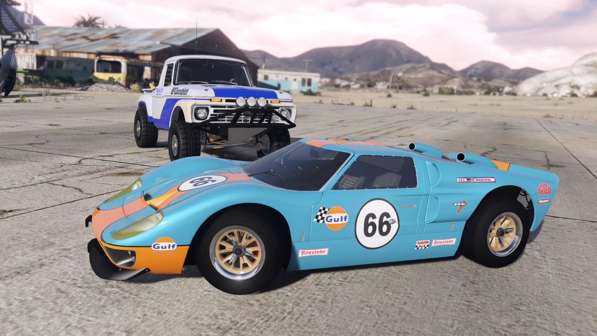 ford gt40 mk2 1966 add on gta5. Black Bedroom Furniture Sets. Home Design Ideas