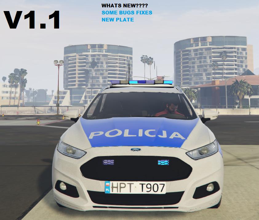 Ford Mondeo Polish Police (Polskiej Policji)