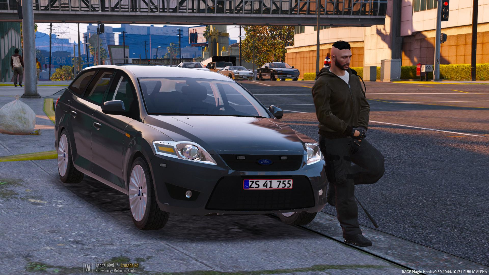 Ford Mondeo - Unmarked - Danish Police - GTA5-Mods.com