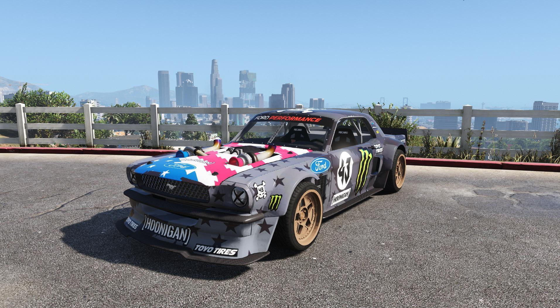 ford mustang 1965 rtr hoonicorn v2 add on replace gta5. Black Bedroom Furniture Sets. Home Design Ideas