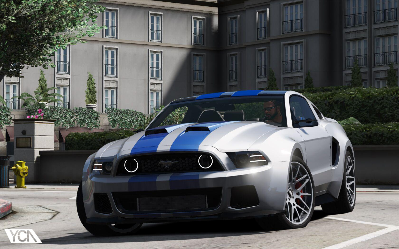 Ford mustang gt nfs gt500 2013 add on gta5 - Mustang modification ...