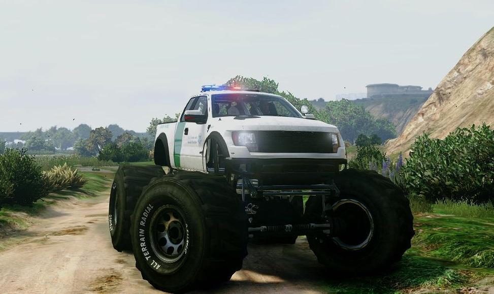 Ford Raptor For Sale >> Ford Raptor Border Patrol Monster Truck - GTA5-Mods.com