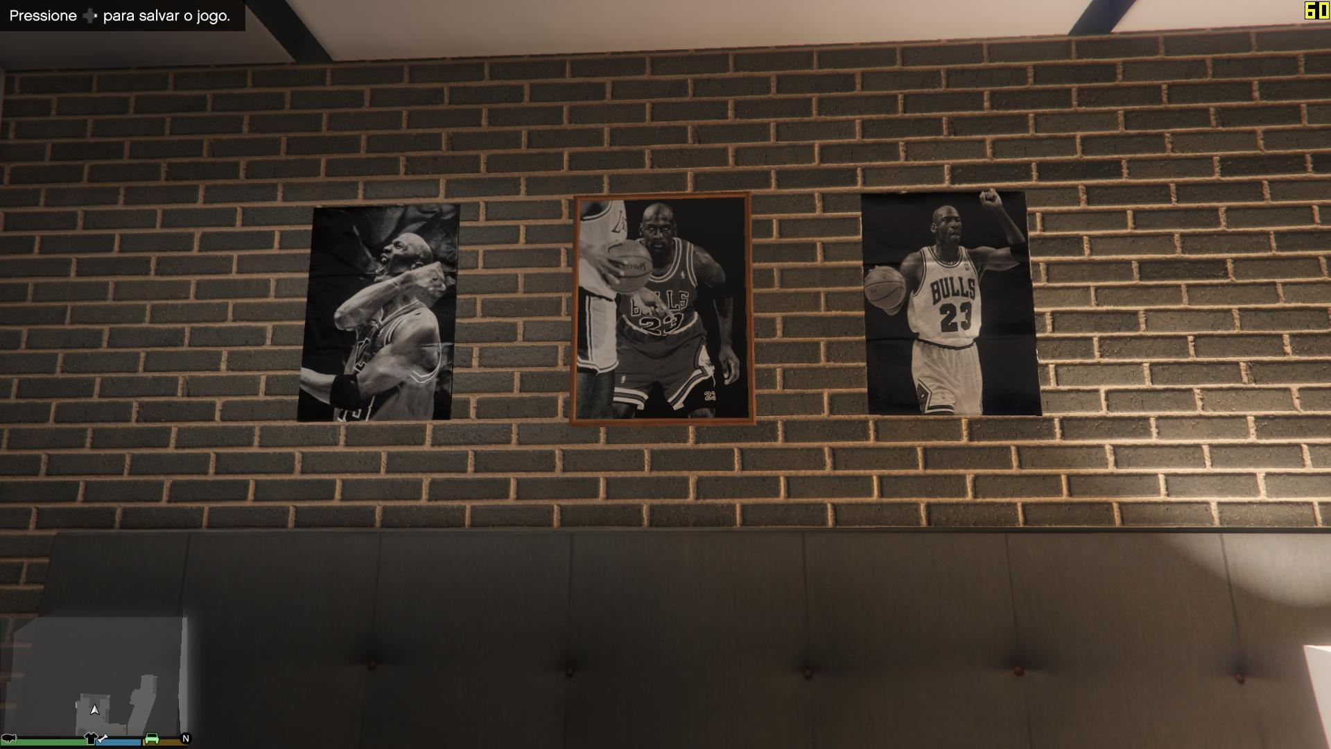 Franklin bedroom posters jordan gta5 for Gta v bedroom wallpaper
