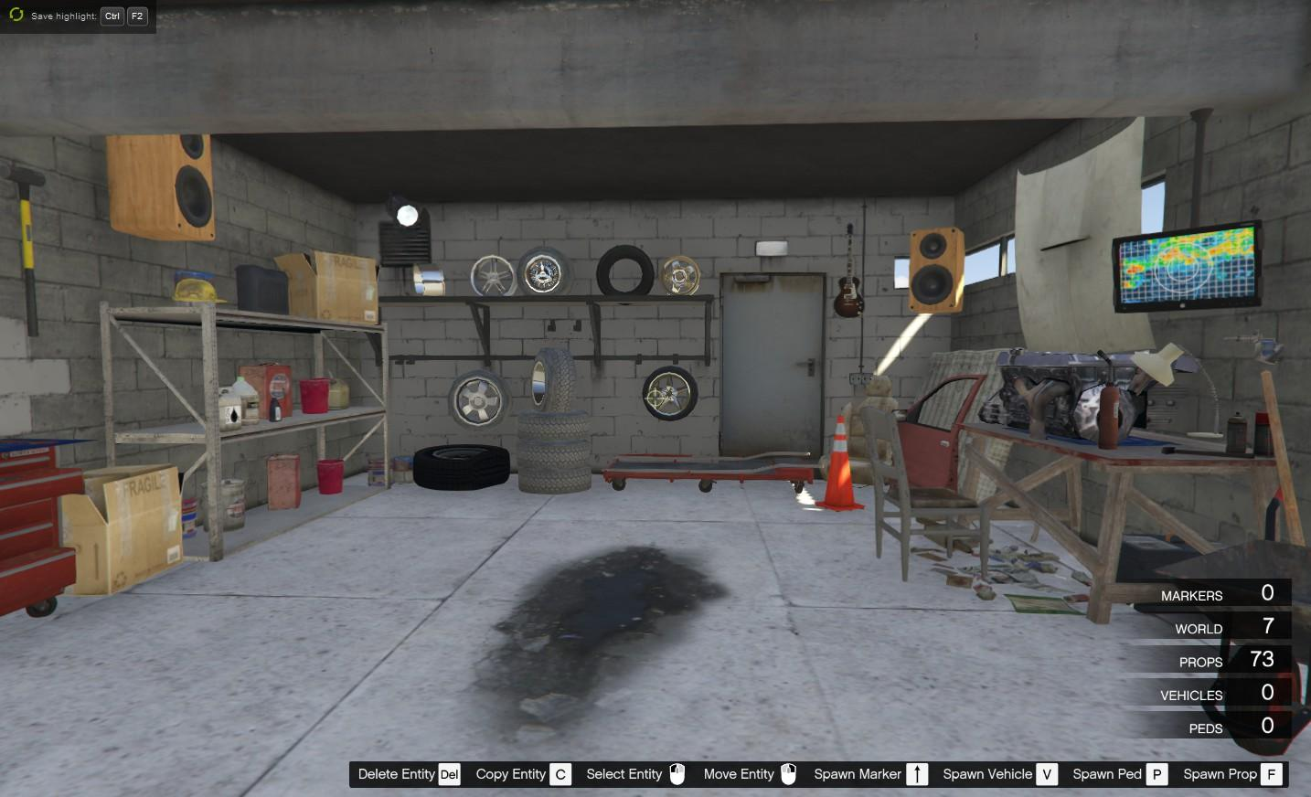 Franklin new garage gta5 for New garage