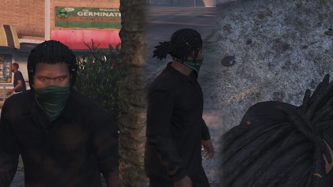 Franklin With Dreads Gta5 Mods