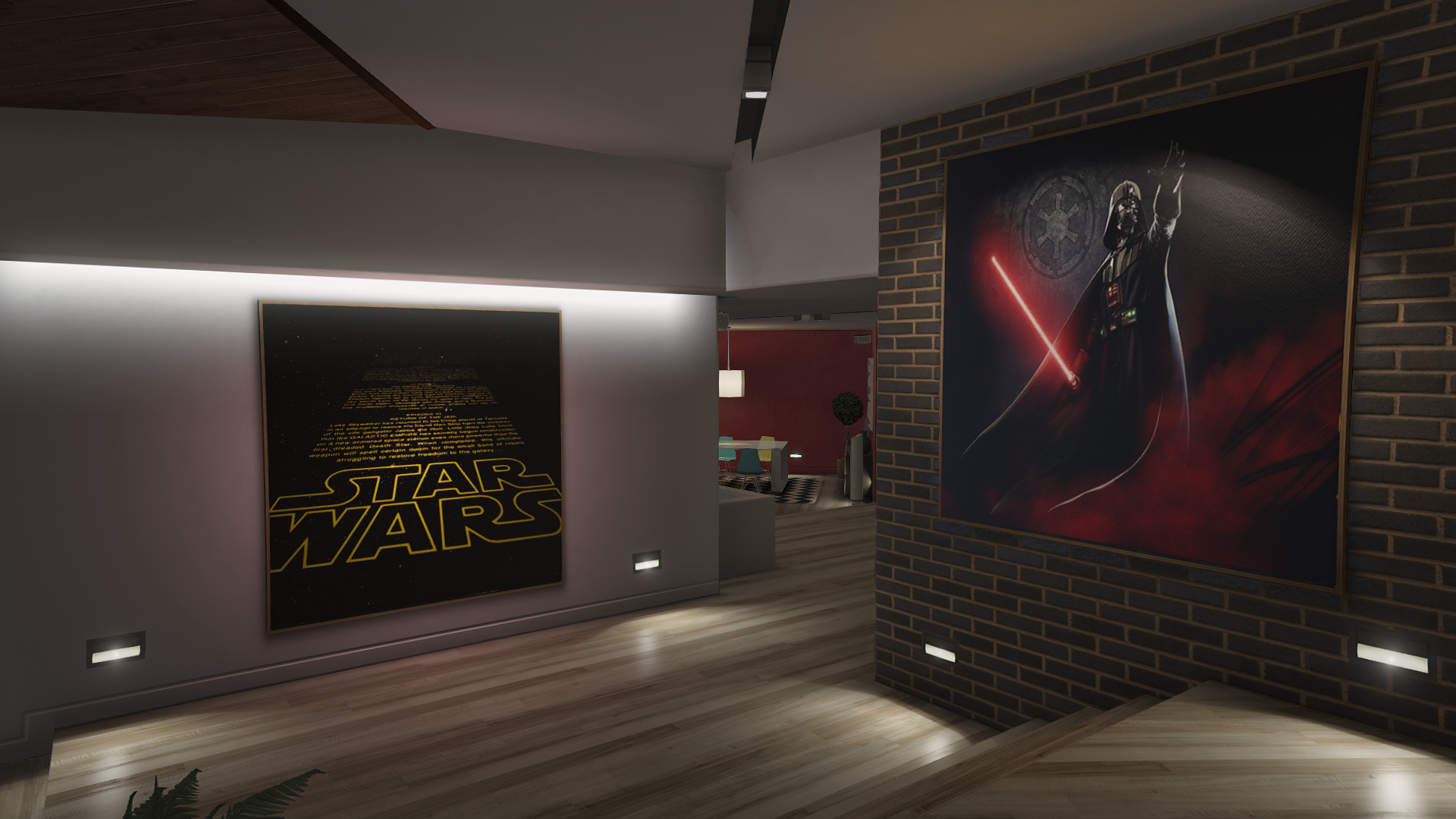 star wars decor wars posters for franklin s house gta5 mods 29750