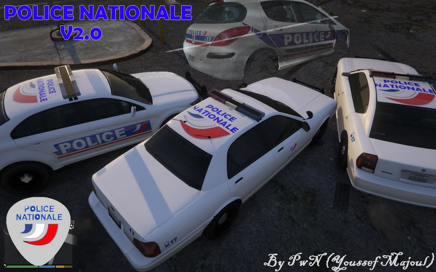 Gta 5 New Cars >> French Police nationale pack - GTA5-Mods.com