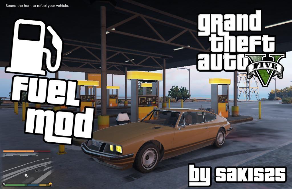 Fuel Script V Mod - GTA5-Mods com