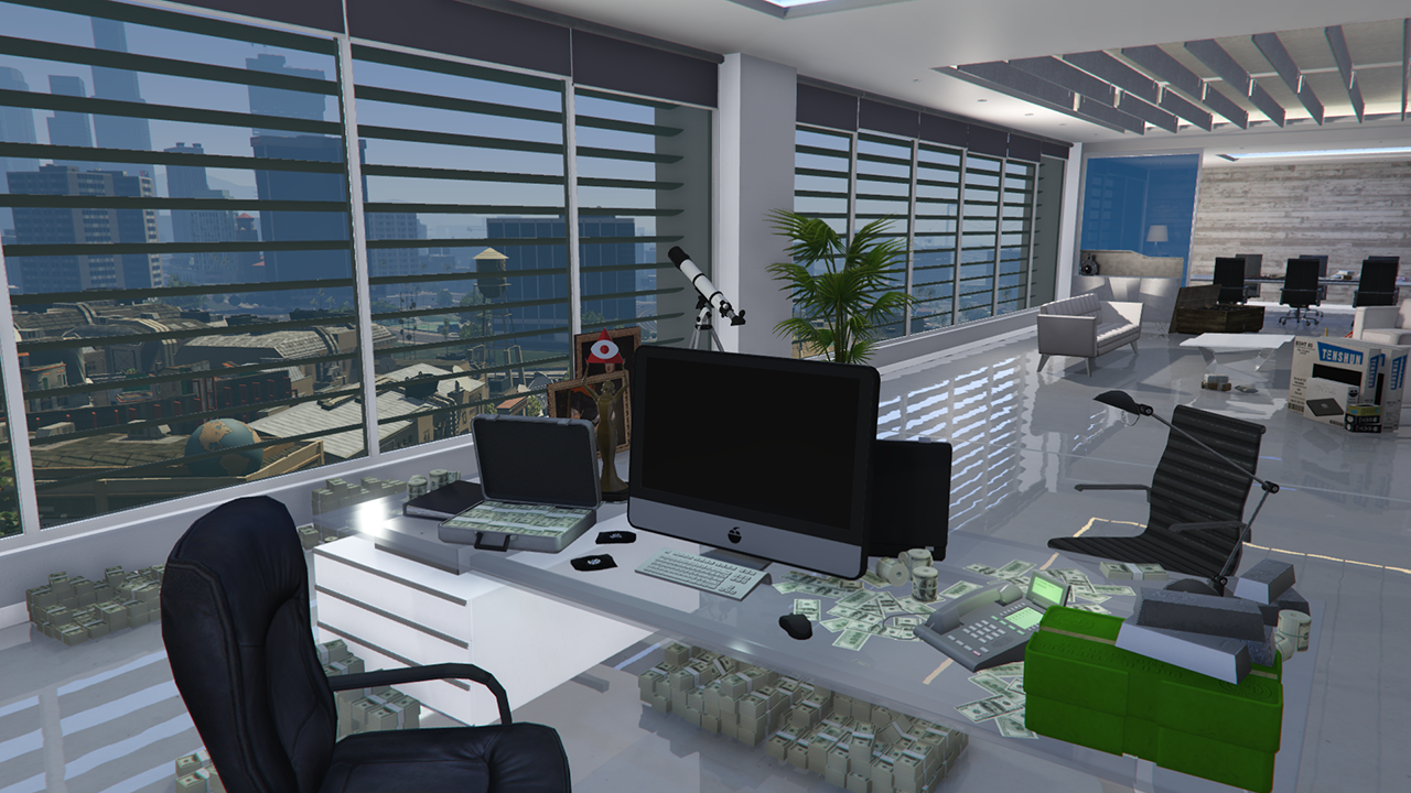 Fully Stocked Offices Menyoo Gta5 Mods Com