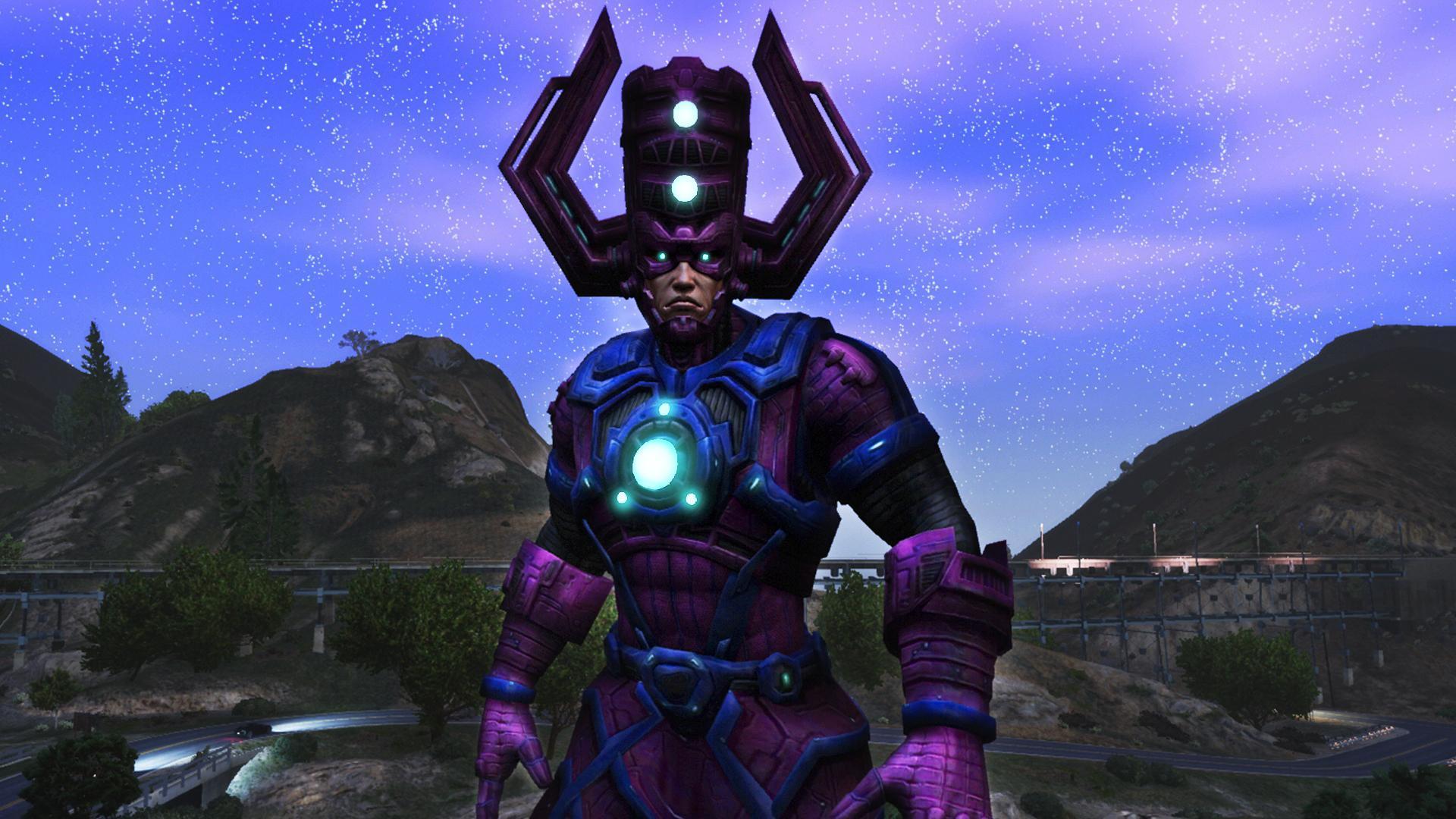 Galactus Marvel Future Fight Gta5 Mods Com