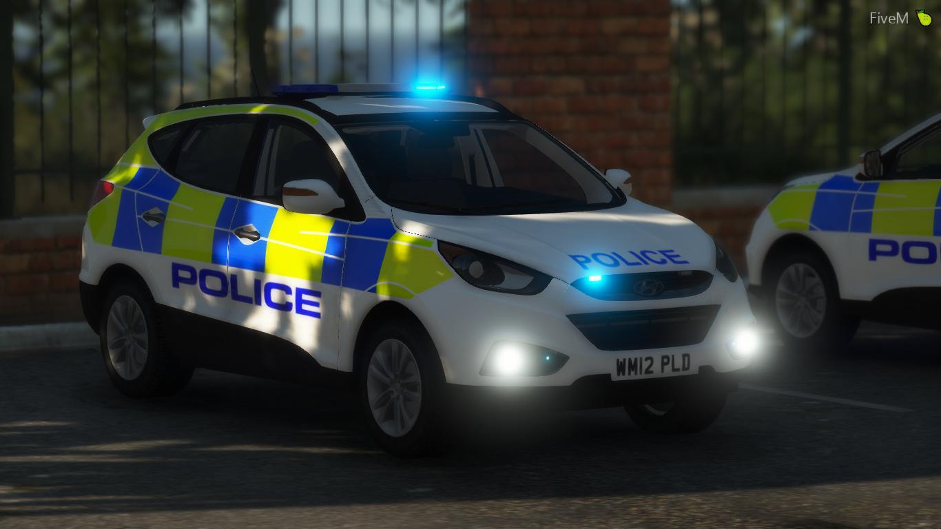 Generic Police Hyundai IX35 [ELS] - GTA5-Mods com