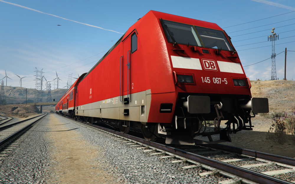 how to start freight train challenge in san andreas