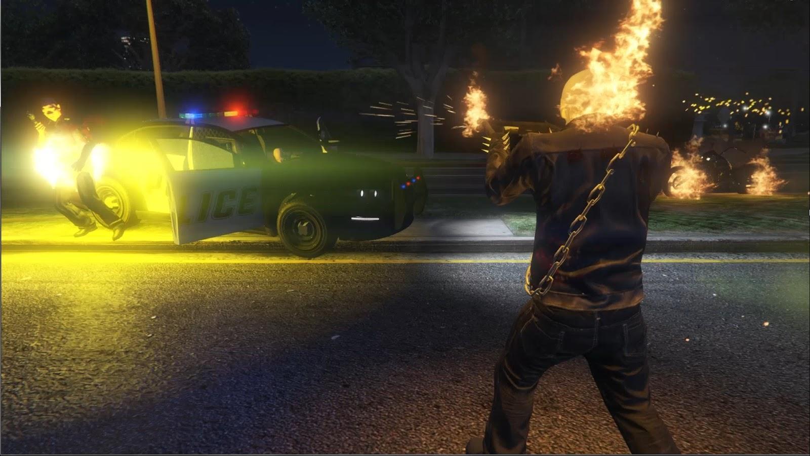 Ghost Rider Script - GTA5-Mods.com