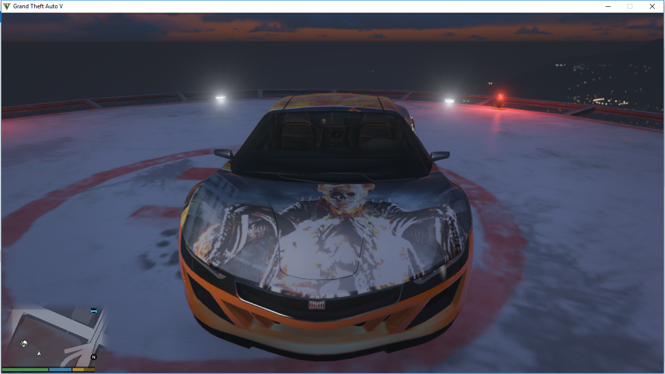 Ghost Rider Skin For Dinka Jester (Race) Car - GTA5-Mods com