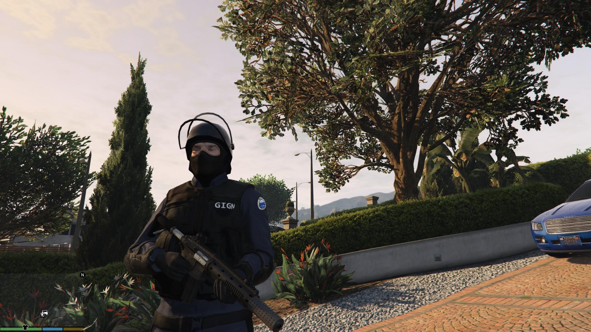 GIGN Uniforme + Casque (Remplace SWAT) - GTA5-Mods.com