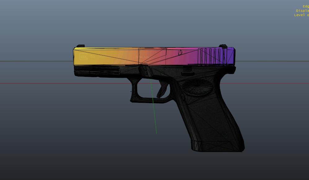 Glock 20 Fade Hd Accurate Gta5 Mods Com