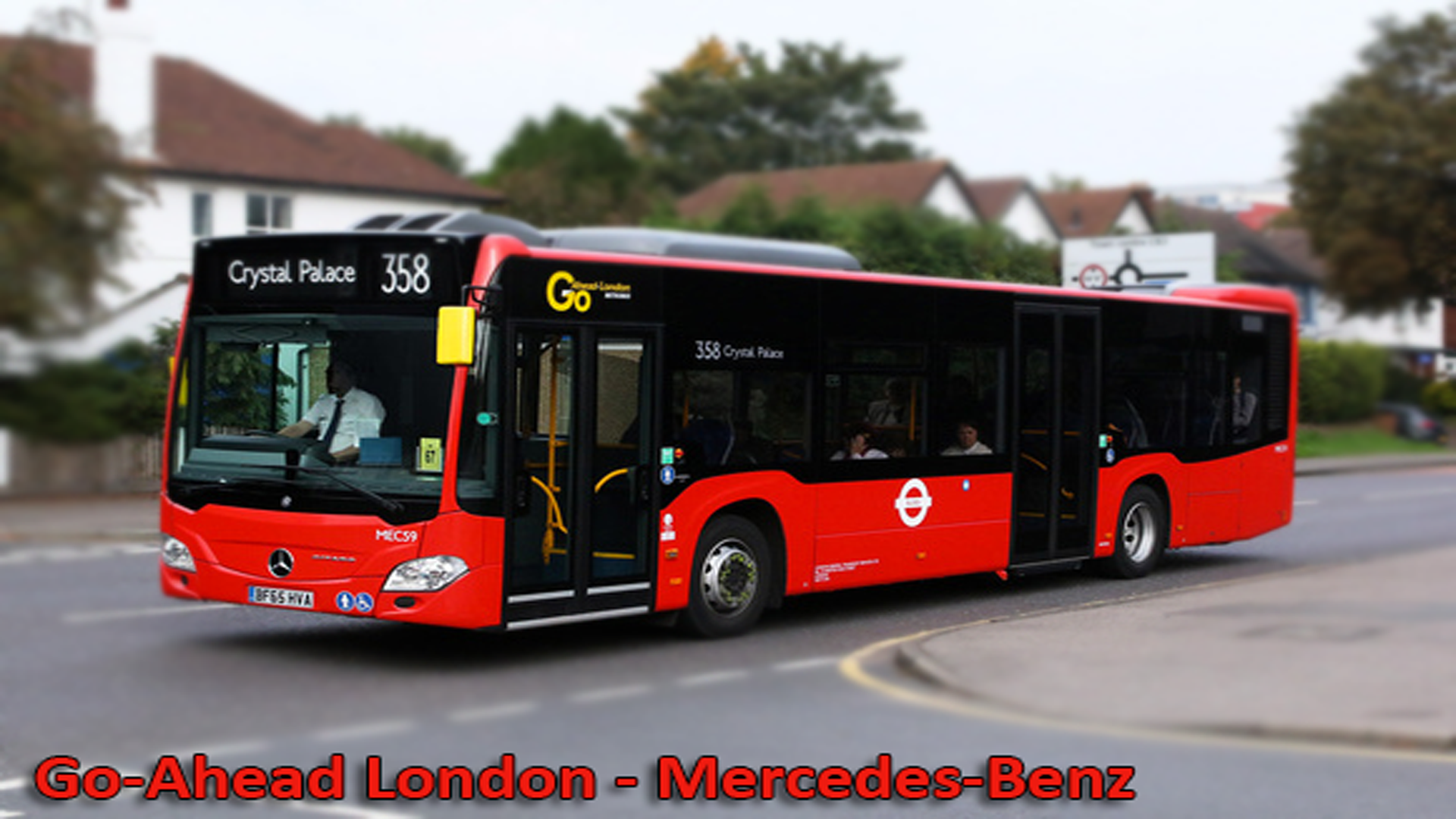 Go-Ahead London - Mercedes-Benz Citaro | 2017 - GTA5-Mods.com