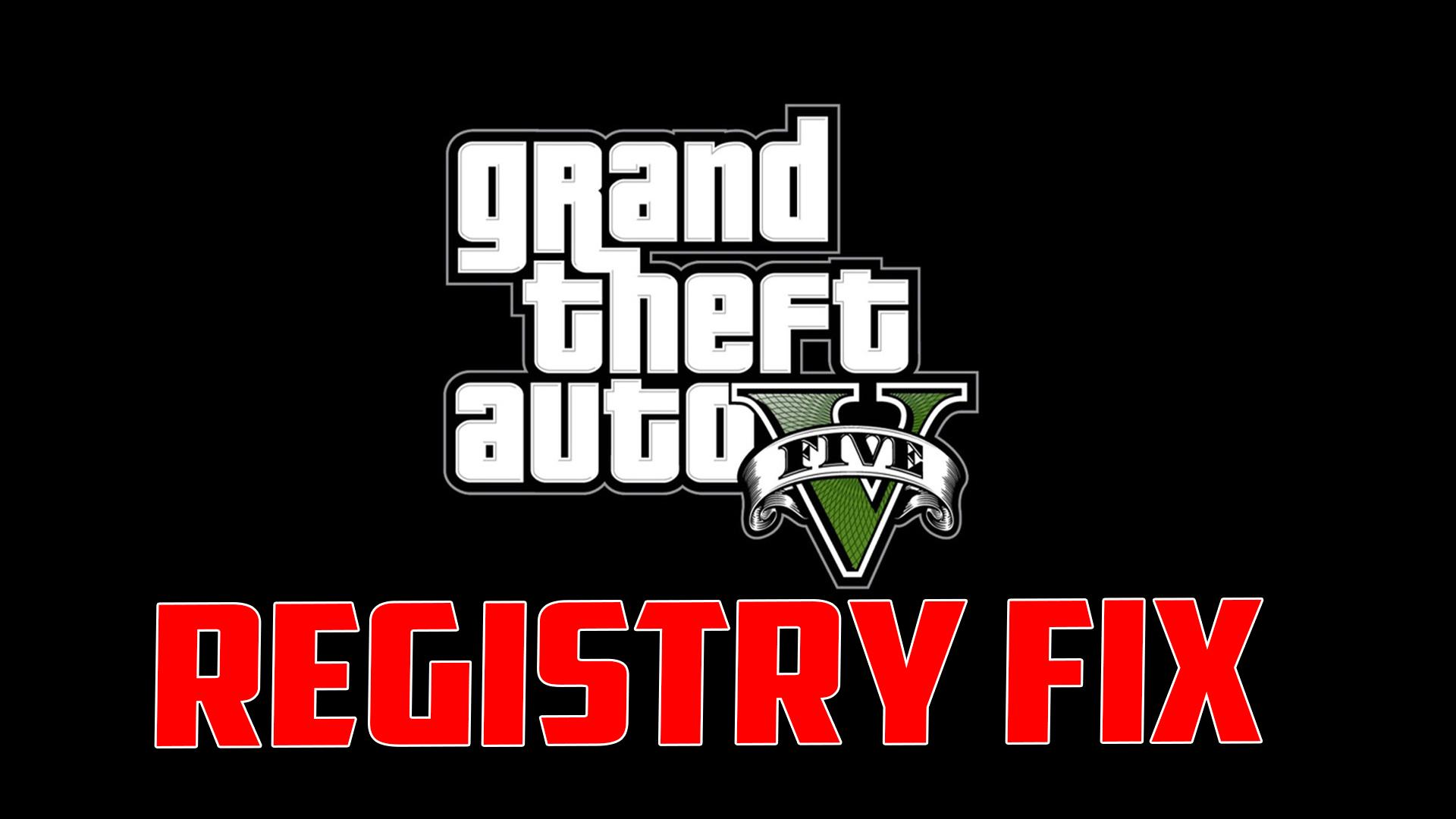 Grand theft auto v registry fix gta5-mods. Com.