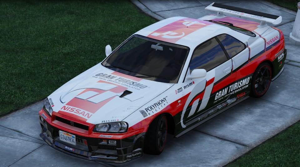 GranTurismo GT-R R34 Livery - GTA5-Mods.com
