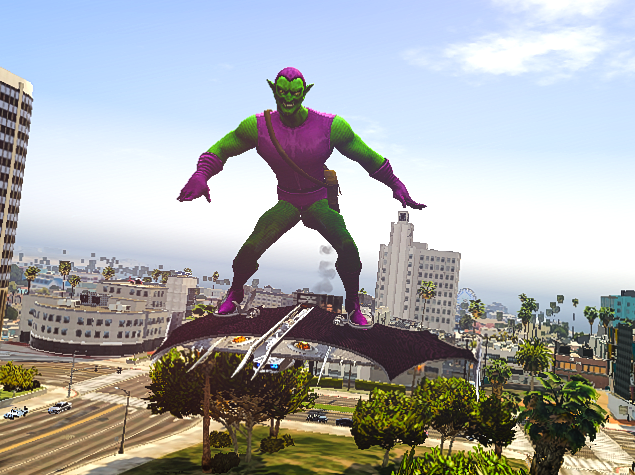 green goblin from spiderman tv series 1994 gta5 mods com