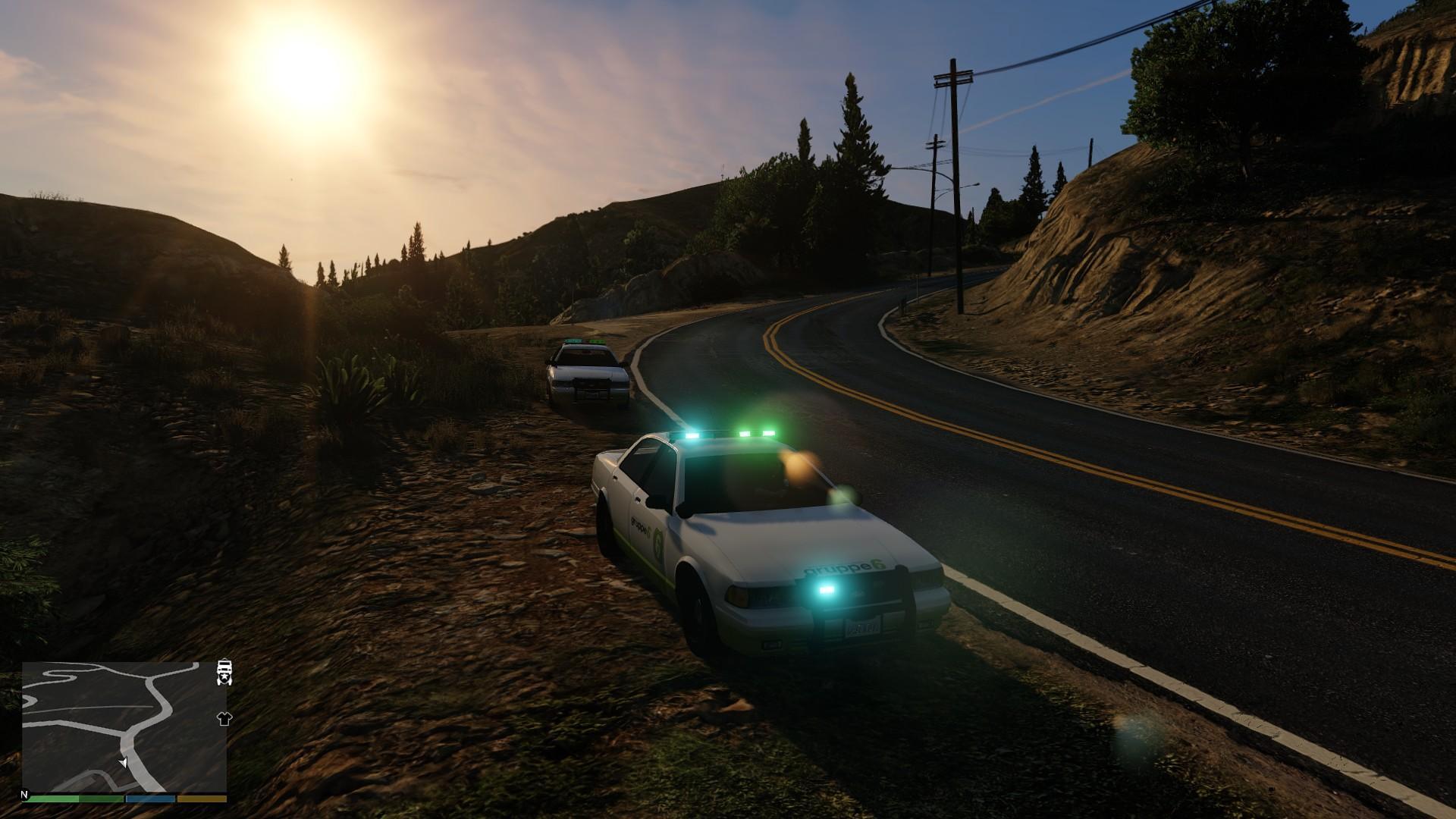 group 6 security vehicle  sheriff