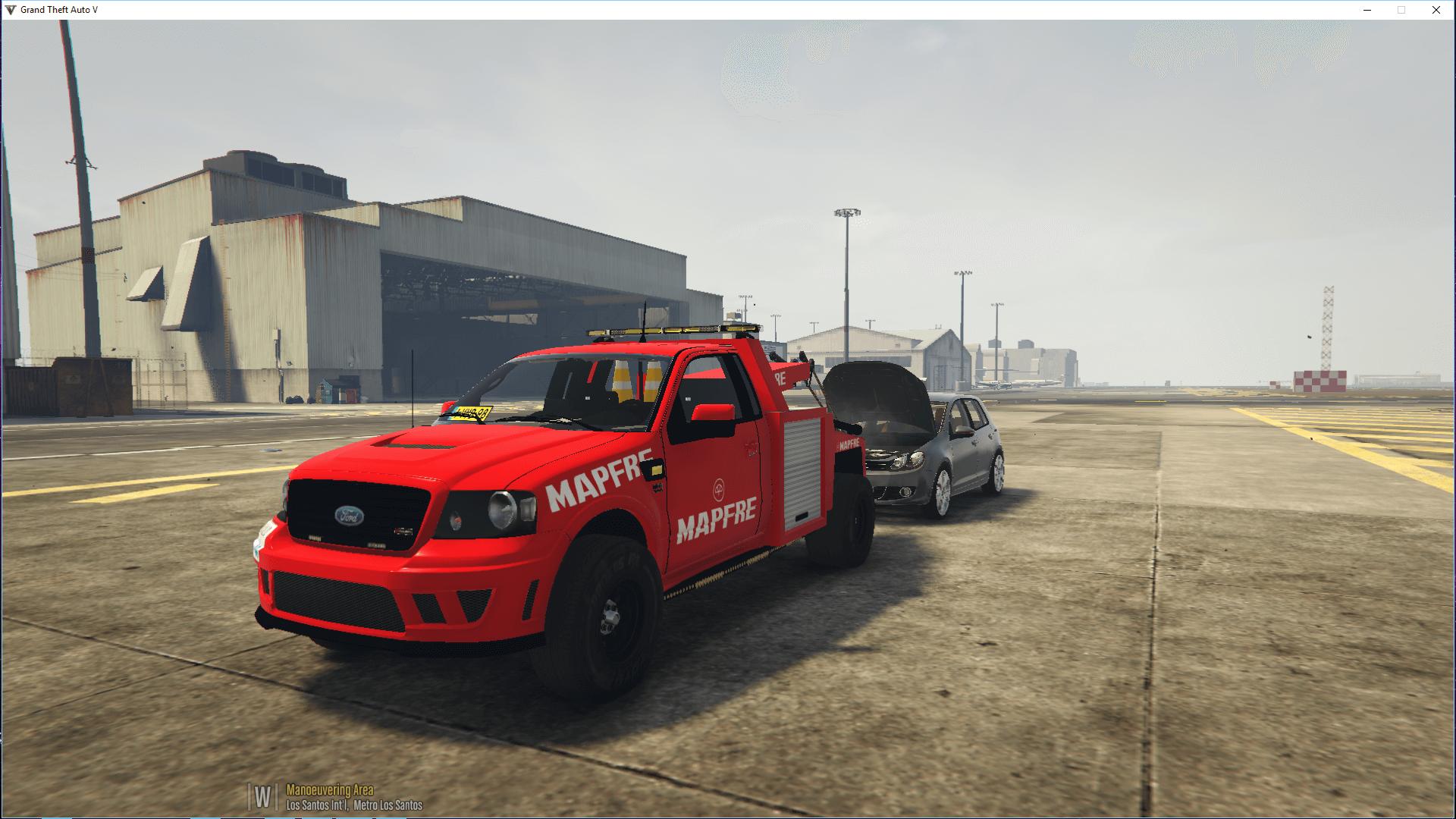Grua Mapfre (Tow Truck) - GTA5-Mods.com