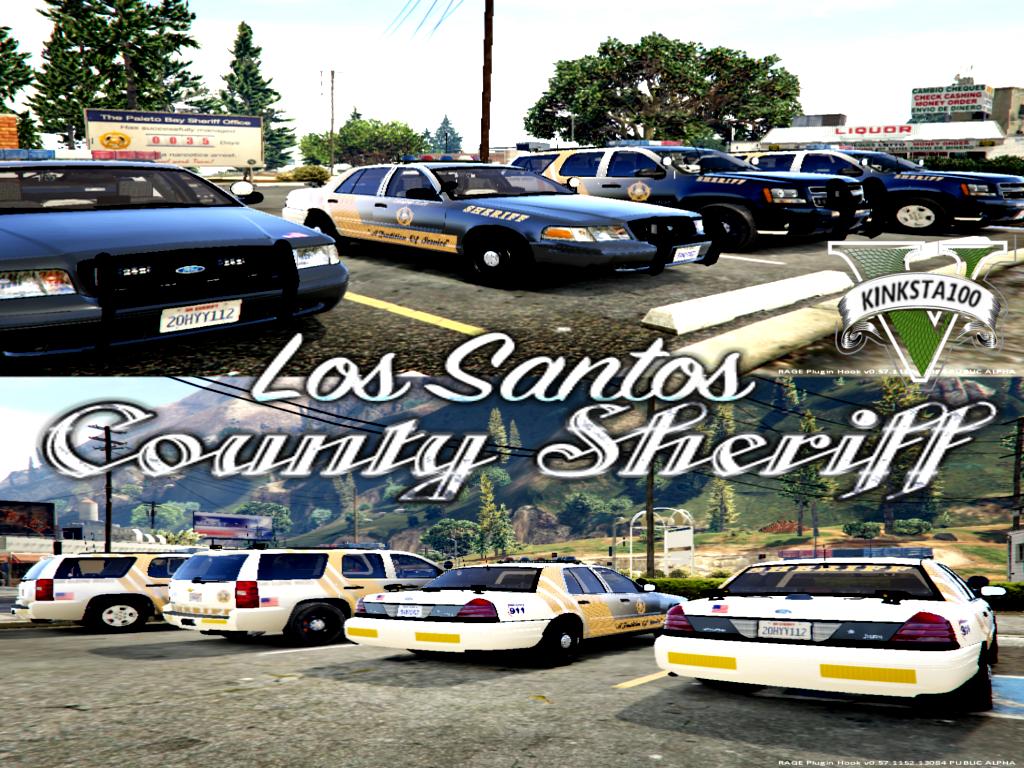 los santos county sheriff lspdfr