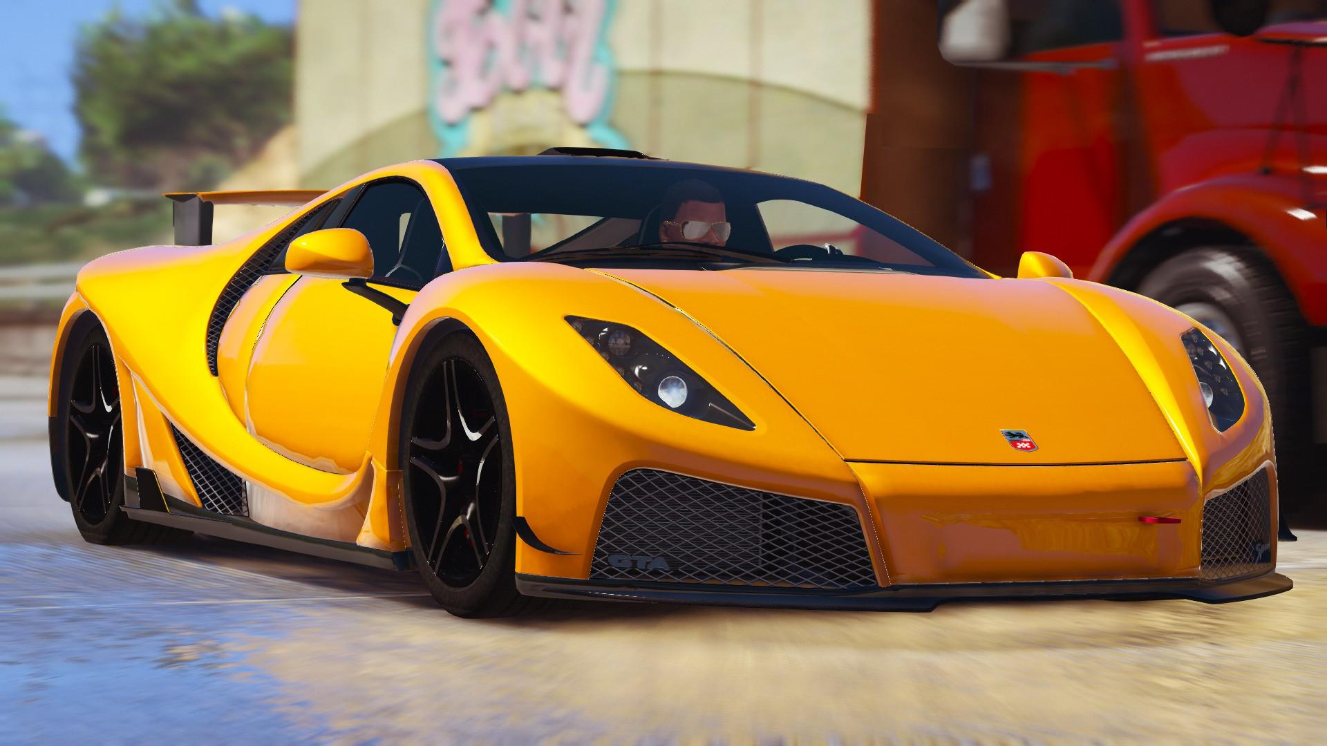 Gta Spano Add On Tuning Auto Spoiler Gta5 Mods Com