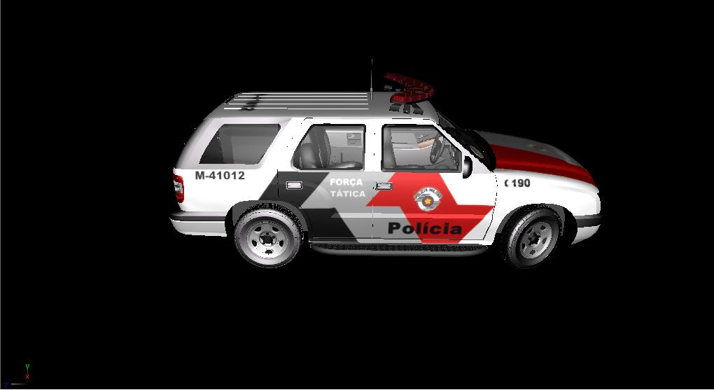 GTA V - Blazer Policia Militar SP - GTA5-Mods com