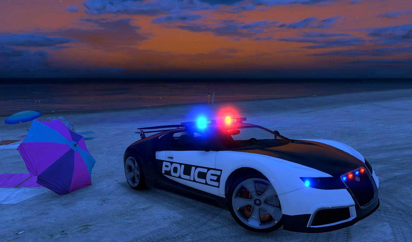 bugatti adder police lspd gta5. Black Bedroom Furniture Sets. Home Design Ideas