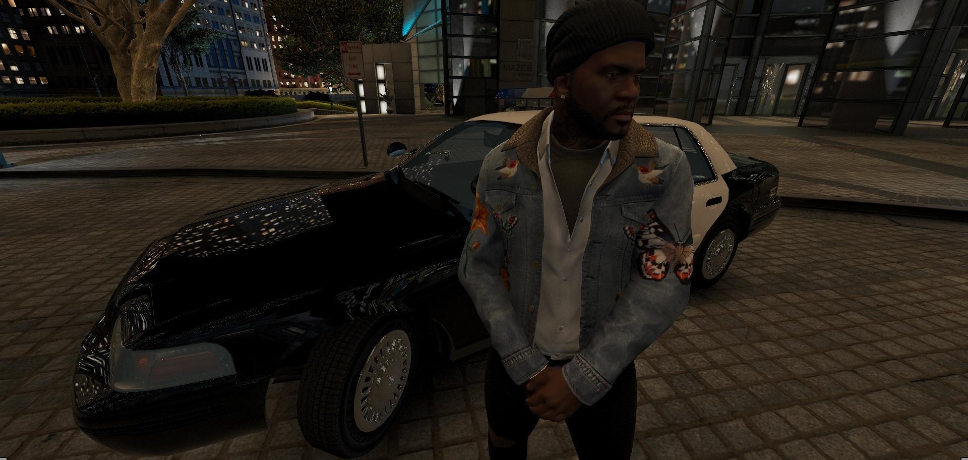 Gucci Jeans Jacket - GTA5-Mods.com