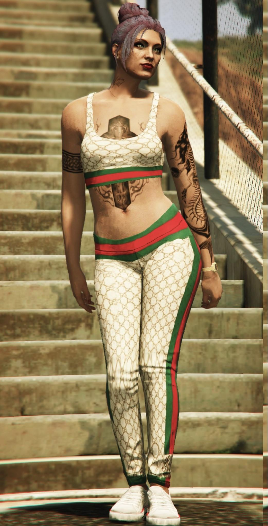 Gucci Outfit for MP FEMALE (Top&Bottom) - GTA5-Mods.com