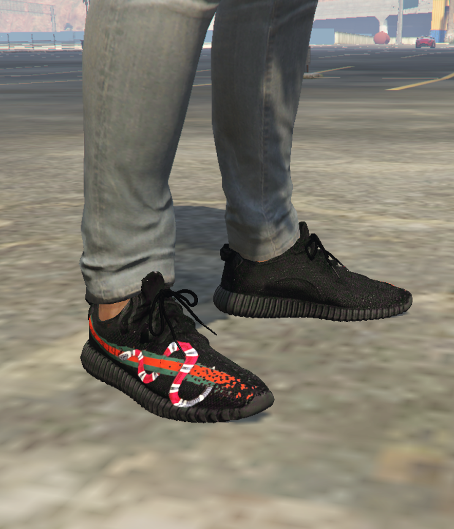 huge selection of 599c8 8cff1 Gucci x YEEZY 350 Boost V2 Texture - GTA5-Mods.com
