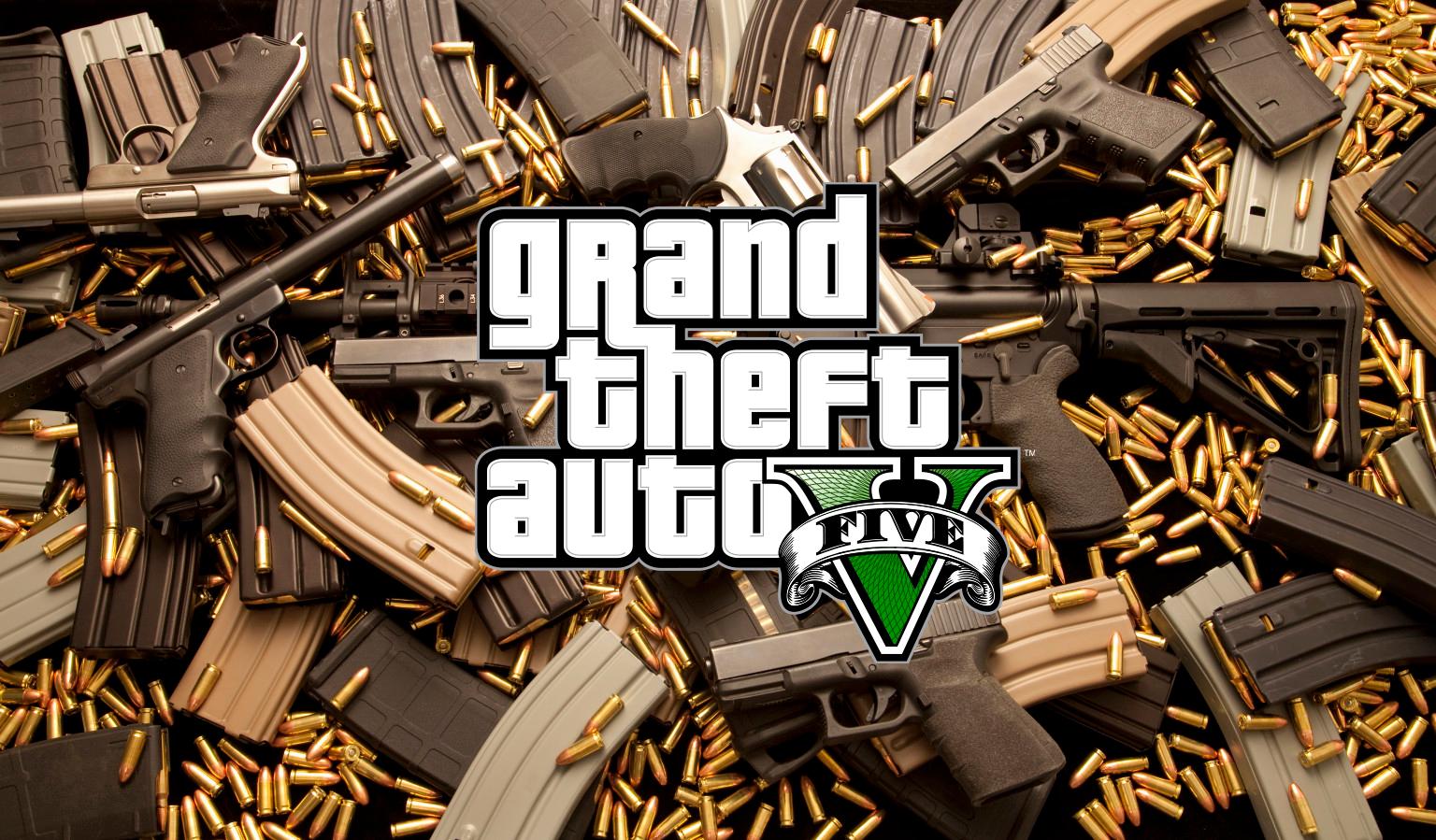 Gun sounds overhaul gta5 for Top 5 d