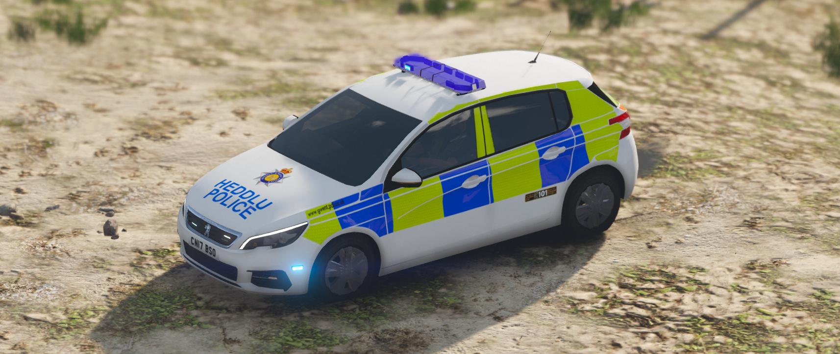 Gwent Police 2017 Peugeot 308 Hatchback Irv Gta5 Mods Com