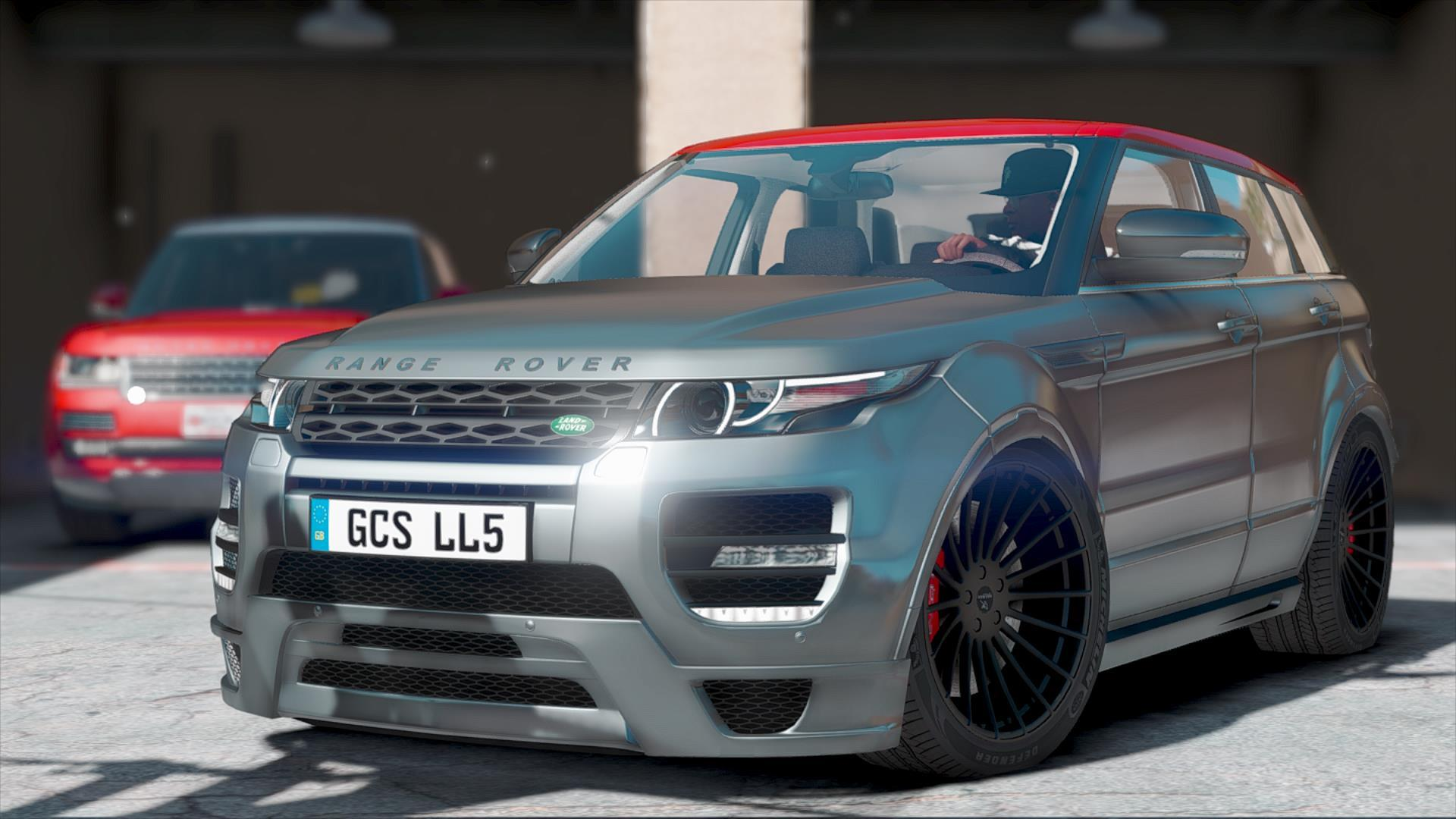 hamann land rover range rover evoque add on gta5. Black Bedroom Furniture Sets. Home Design Ideas