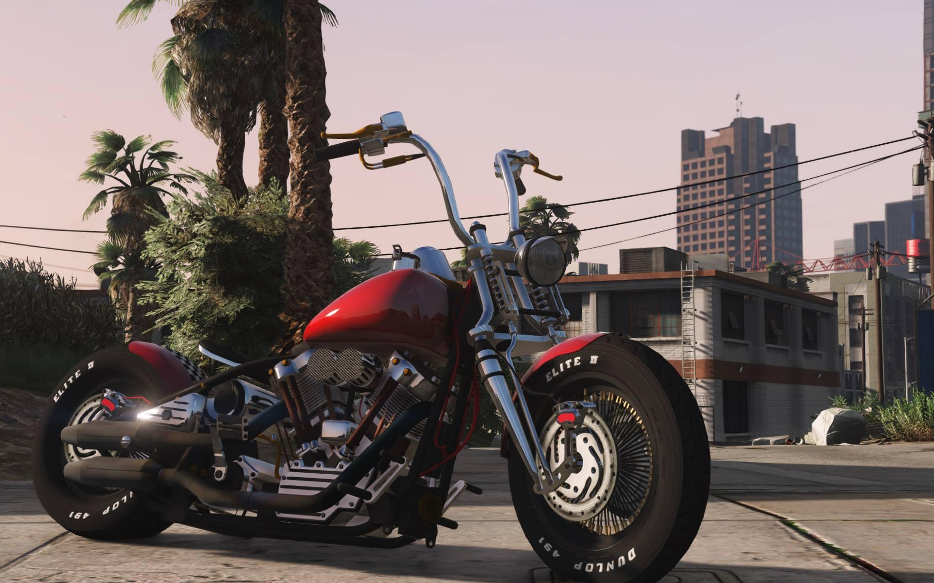 Harley-Davidson Knucklehead [Animated | Replace] - GTA5 ...
