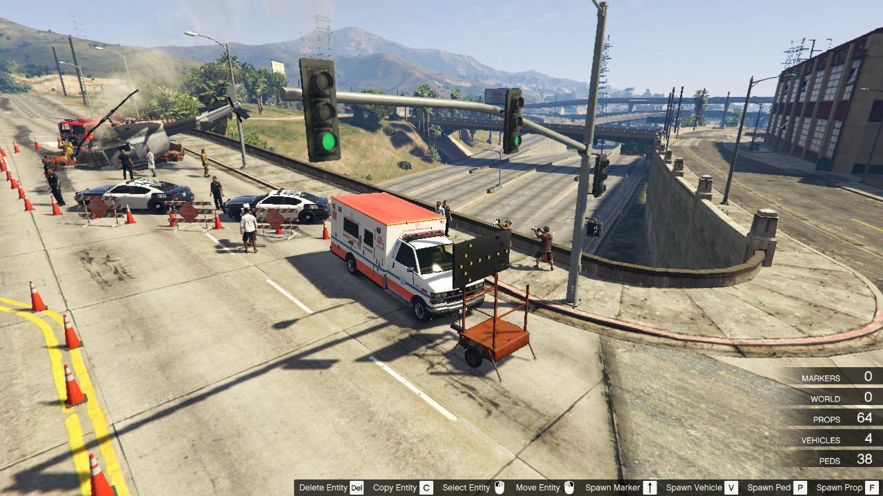 Elicottero Gta 5 : Helicopter crash gta mods