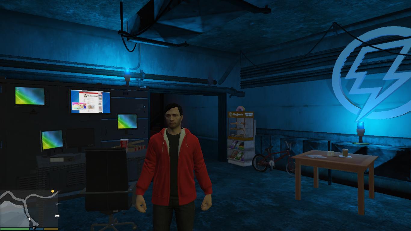 Man Cave Ideas Nerd : Hero man cave hideout nerdy safehouse gta5 mods.com